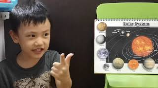 Exploring Our Solar System & Planets with my six years old boy KaiKai