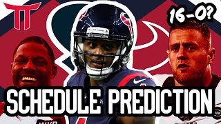 Houston Texans Schedule Prediction/Season Preview 2020 | Shock the NFL and prove the haters wrong?