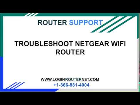 Troubleshoot Netgear Wifi Router