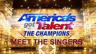 ANGELICA HALE RANKED MOST POPULAR SINGER ON AMERICA'S GOT TALENT THE CHAMPIONS - MEET THE SINGERS
