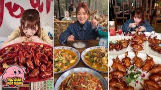 """Tik Tok Trung Quốc - Cô gái """"ăn cả thế giới"""" gây sốt với khả năng ăn mãi cũng không biết MẬP"""