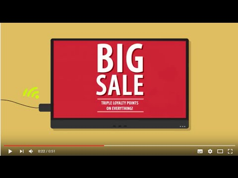 Thinking of digital signage?  Try ScreenScape