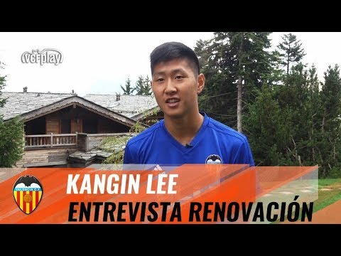 ENTREVISTA A KANGIN LEE TRAS SU RENOVACIÓN CON EL VALENCIA CF