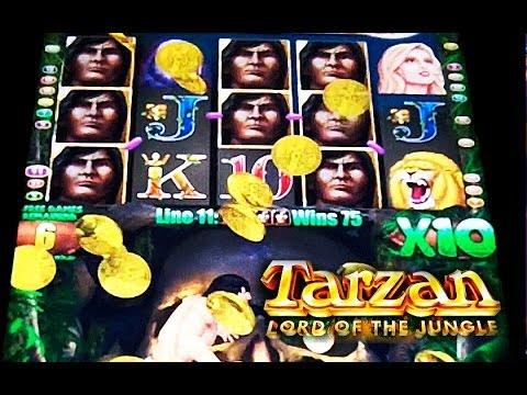 Aristocrat Tarzan Lord Of The Jungle Big Win Slot