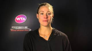 Angelique Kerber - Looking forward to Porsche Tennis Grand Prix 2016