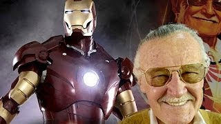 Stan Lee meets Real Tony Stark at Legacy Effects