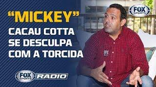 """Após polêmica do """"Mickey"""", dirigente do Flamengo pede desculpas sobre acusações em pichações"""