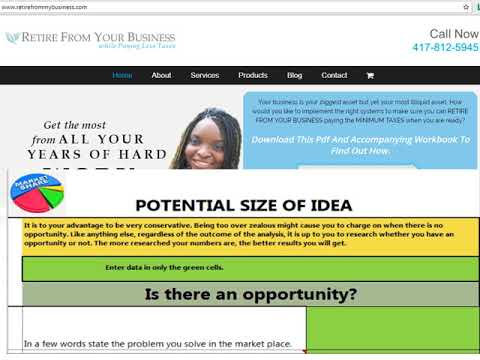 Retire from your business