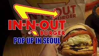In N Out Popup in Seoul