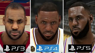 NBA 2K - PS5 vs PS4 vs PS3 Graphics and Gameplay Comparison