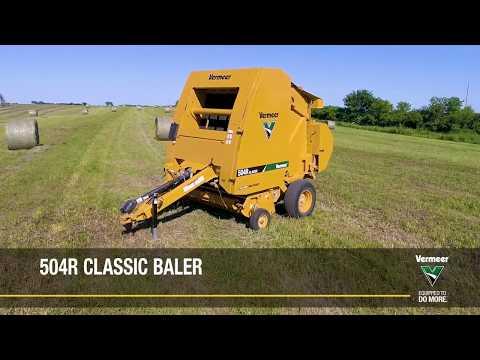 504R Classic Equipment Vermeer