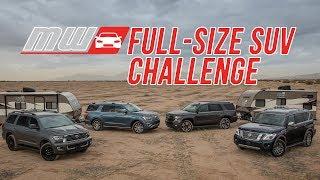 Comparison Test: 2018 Full Size SUVs