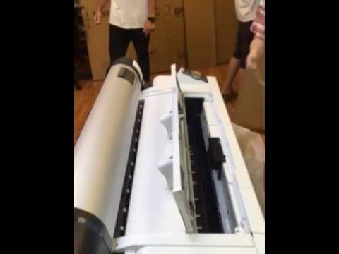 Unboxing & Setup of the Epson SureColor P10000 Printer
