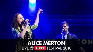 EXIT 2018   Alice Merton Live Performance @ Main Stage + Interview