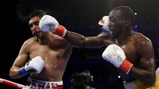 Did Amir Khan quit against Terence Crawford?