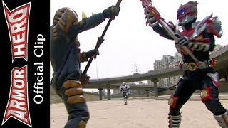 Armor Heroes Fights with Monsters - Official English Clip  [HD 公式] - 68