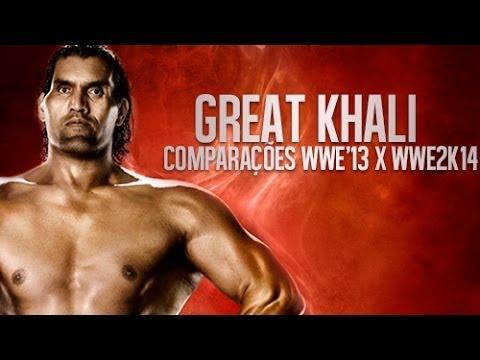 48# Comparações: WWE'13 e WWE2K14 - The Great Khali ...
