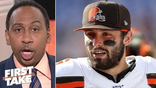 Stephen A. blames the Ravens' defense for the Browns' dominant win | First Take
