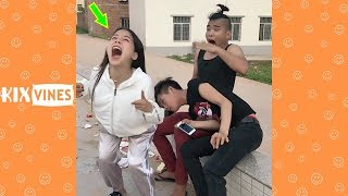 Funny videos 2019 ✦ Funny pranks try not to laugh challenge P113