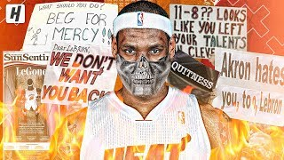 When LeBron James BECAME A VILLAIN! BEST Highlights from First Year with Miami Heat!