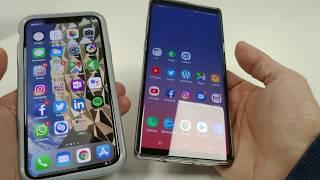 Galaxy Note 9 x iPhone X: Qual é o melhor celular para você?
