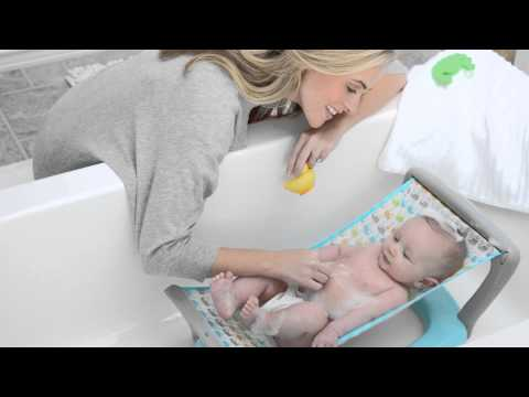Baby's Journey Bath Hammock - Whales