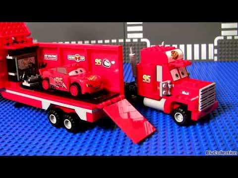 MegaBloks Mack & Lightning McQueen 7769 Disney Pixar Cars Lego Blocks 8486 Mack's Team Truck