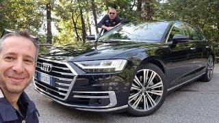 Audi A8, tecnologia e abitabilità a un livello superiore. Imbattibile?