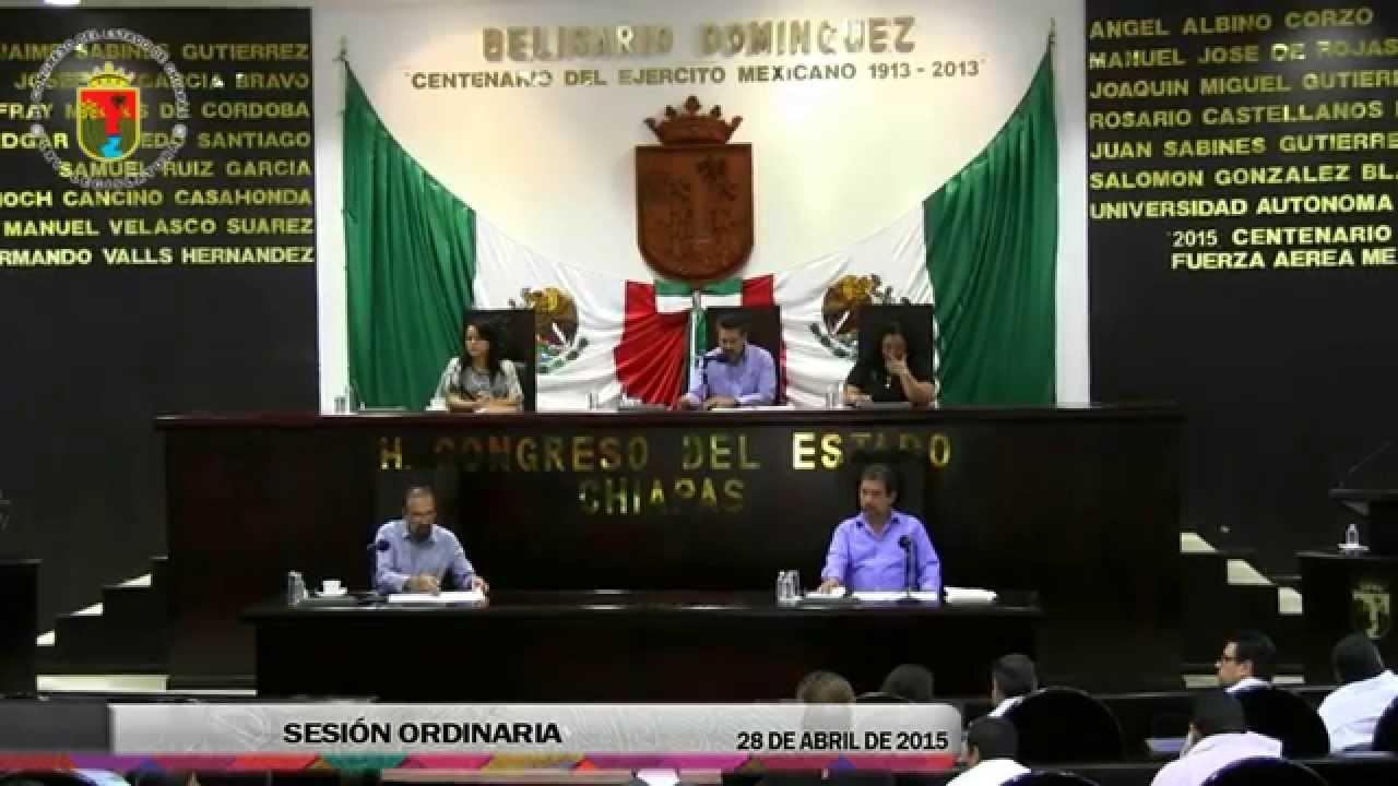 Sesión Ordinaria 28 de Abril de 2015