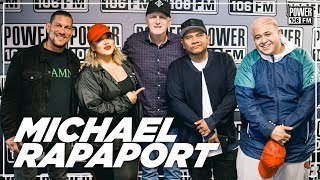 Michael Rapaport Talks 'The Guest Book,' Kanye West's Whitehouse visit + Tekashi 6ix9ine