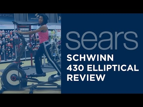 video Schwinn 430 Elliptical Machine