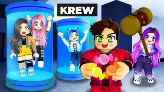 Krew plays Roblox Flee the Facility! (FUNNY)
