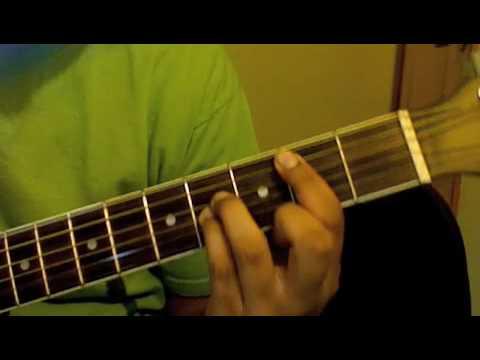 no me soltaras rojo guitarra