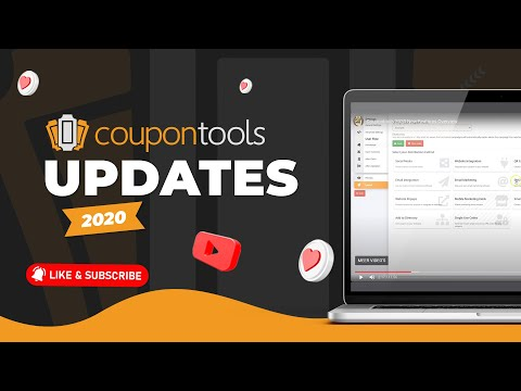 Videos Coupontools.com | Overview of All New Features 2020
