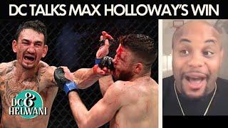 Daniel Cormier reacts to Max Holloway's win over Calvin Kattar | DC & Helwani | ESPN MMA