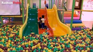 Raihan and Rohan at Babuland indoor Playground funny moment video