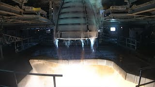 NASA Conducts First RS-25 Rocket Engine Test of 2018