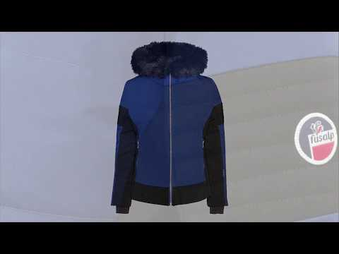 Fusalp Gardena III Womens Jacket in Blue Depth