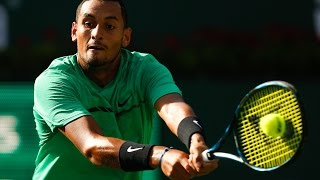 ATP R3 Hot Shot Kyrgios 2