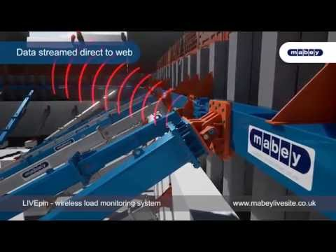 Mabey Hire LIVEpin - wireless load monitoring system