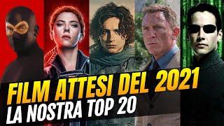 I 20 film più attesi del 2021