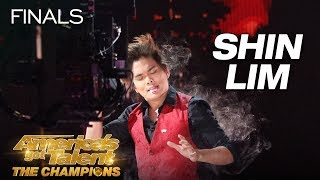 Shin Lim: Magician Baffles Judges With Incredible Card Magic - America's Got Talent: The Champions
