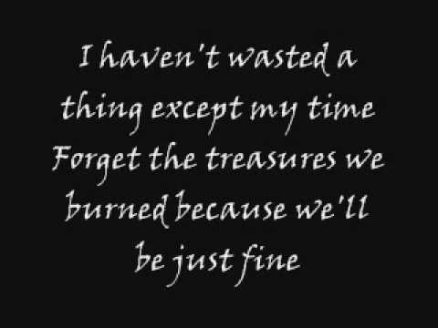 The Used - Empty With You [Lyrics]