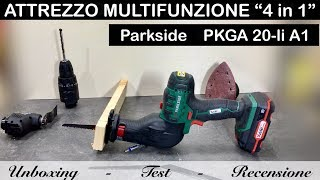 Parkside Cordless Multi-Purpose Tool PAMFW 20-Li A1