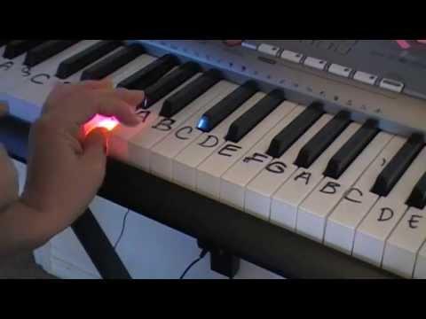 como aprender piano (exercicios basicos)-principiantes facil y rapido