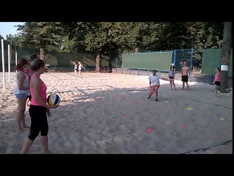 Beach Centrum - trénink začátečníků 13.8.2015