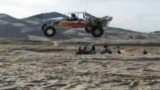 Tatum Sand Car Jumps High!