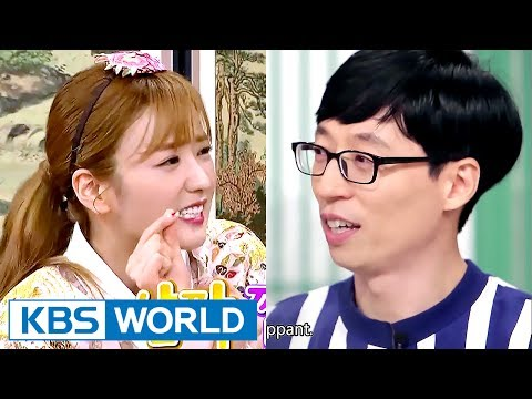 Even MC Yoo Jaeseok can't stop Apink Bomi! [Happy Together / 2017.06.29]