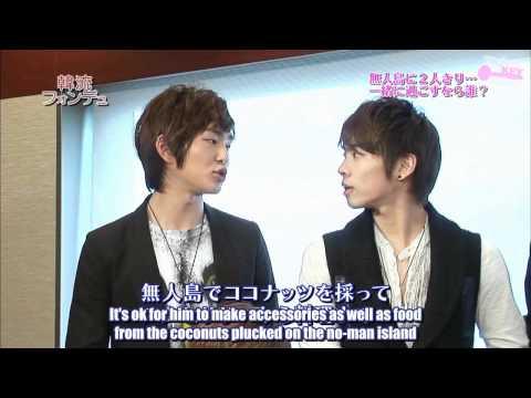 [ENG SUB] 100613 - SHINee Tokyo Interview - unlocKEY subs -