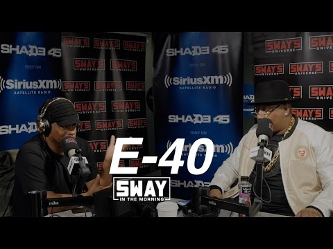 E-40 Freestyles Live For the First Time + Reveals He's Sway's Cousin & Breaks Down Recording Process